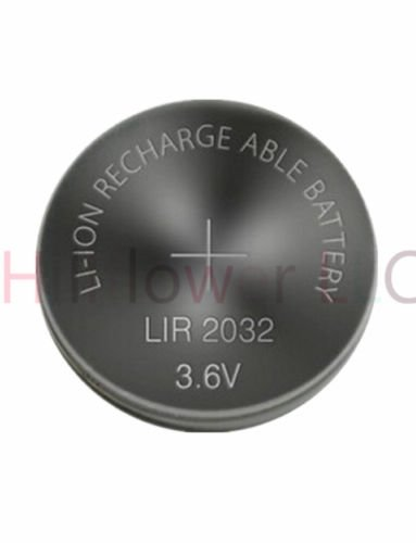 - Hillflower 10 Piece LIR2032 2032 CR2032 LM2032 BR2032 Rechargeable Bulk 3.6V Long Duration Lithium Battery