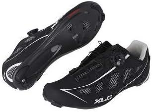 2500080948VAR - Zapatillas Ciclismo Bicicleta Carretera CB-R08 Color Negro Talla 47: Amazon.es: Coche y moto