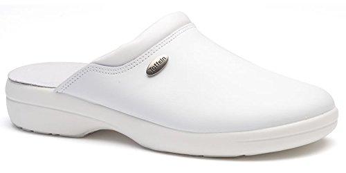 Infirmiers Flexible Flexible Blanc Lite Sabots 0501 Chaussures Blanc Clair Toffeln xw1FgSCqg