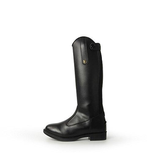 Brogini Unisex Kinderen Modena Piccino Synthetische Lange Laarzen Zwart