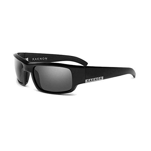 Kaenon Men's Arlo Polarized Rectangular Sunglasses, Black Label, 58 - Sunglasses Kaenon Sr 91