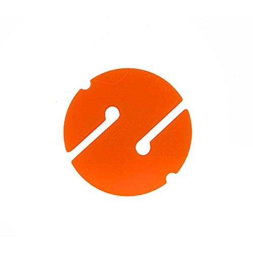 Scuba Choice Cave Diving Line Circle Marker 10-Piece Pack, Orange by Scuba Choice
