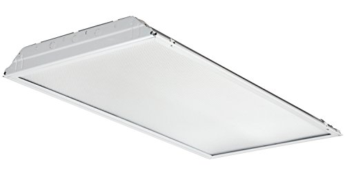Lithonia Lighting 2GTL4 LP835 2-Feet by 4-Feet LED Troffer Indoor Light, White by Lithonia Lighting
