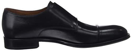 Ebony Hombre Negro de Cordones L6964 Ebony Negro Negro Derby Zapatos Lottusse para wq78Sx