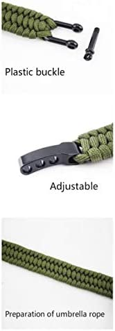 GOUDAN Outdoor Survival Adjustable Lifesaving Bracelet Equipment Seven-core Umbrella Rope Braided Bracelet Multi-Function Mountaineering Adventure Emergency Rope