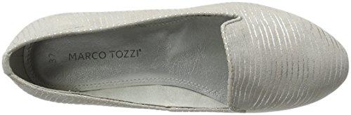 Marco Tozzi 24234, Mocasines para Mujer Gris (Lt.grey Comb 248)