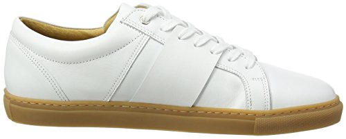 Won Hundred Shoes Weimara_Low, Baskets Homme Blanc (Shoe Colour White 10)