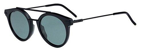 New Fendi URBAN FF 0225/S 807/QT Black /Green Sunglasses