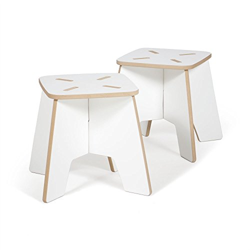 Sprout White Kids Stool Pack product image