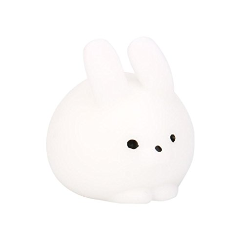 Squishies Slow Rising, OCEAN Squishy Mini Fat Rabbit Healing Squeeze Abreact Fun Joke Gift Rising Toys (White) (1 Dollar Gifts)