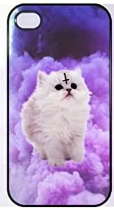 Hipster Kitty Cat Cute Fashion Iphone 5 and 5s Case