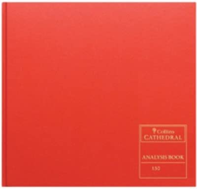 Collins Cathedral Analysis Book 96 Pages CL150321 150//32.1 -