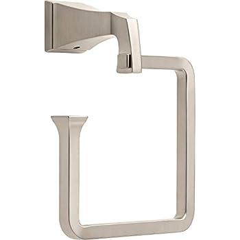 Delta Faucet 128896 Dryden Towel Ring Spot Shield