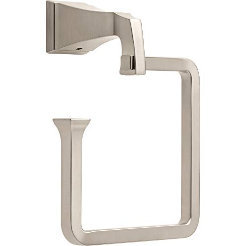 Delta 75146-SS Dryden Towel Ring, Stainless Steel