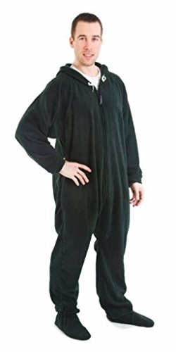 Forever Lazy Unisex Footed Adult Onesie One-Piece Pajama Jumpsuit
