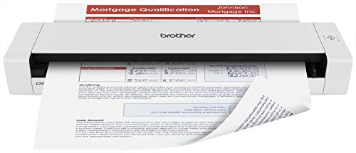 Brother Mobile Color Page Scanner, DS-720D, Fast Scanning, Compact and Lightweight, Duplex Scanning (Best Small Office Scanner)
