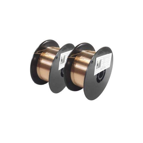 Silicon Welding Wire Bronze - 2-Lb X 2 ERCuSi-A Silicon Bronze copper welding wire .030