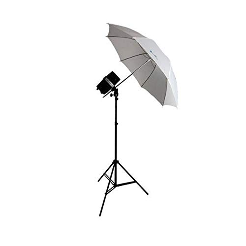 LimoStudio New Single 200 Watt Photo Studio Monolight Flash Strobe Umbrella Lighting Kit - 1 Studio Flash/Strobe, 1 Soft Umbrella, AGG334V2 ()