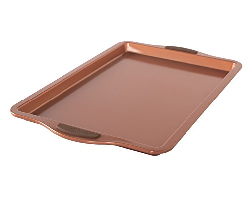 Nordic Ware 48243 Freshly Baked Cookie Sheet, 11' x 17', Copper