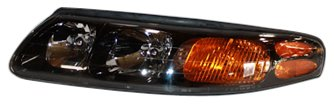 Pontiac Replacement Bonneville Fender - TYC 20-5876-00 Pontiac Bonneville Driver Side Headlight Assembly