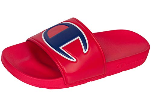 5bf5c9a69155d CHAMPION Boy s Kid s Youth Ipo Big C Logo Slide Sandal -RED RED 4 ...