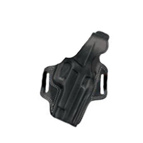 Galco Fletch High Ride Belt Holster for Walther PPK, PPKS (Black, Right-hand)
