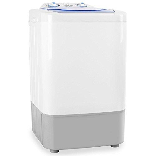 oneConcept MNW2-SG002 Camping-Waschmaschine TL / B / 3 kg / 250 W Waschleistung / weiß