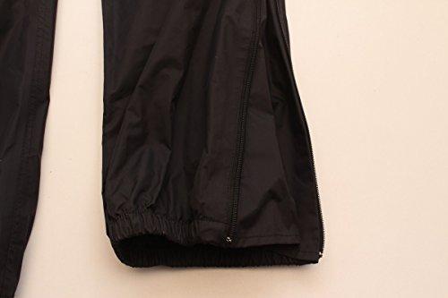 Pantaloni Moto Fashionka Pantaloni Impermeabili Neri Gr. L