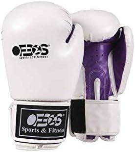 Ofbos® Guantoni Boxe Allenamento in Pelle PU Flex Kick Boxing Muay
