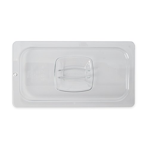 New Rubbermaid Commercial Products Cold Food Standard Lid, 1/3 Size, Clear (FG121P23CLR)