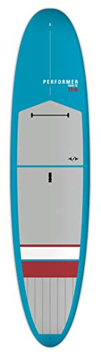 BIC Sport Tough-TEC Performer SUP Stand Up Paddleboard, Blue/Grey/Red, 11'6""