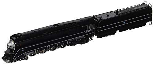 - Kato USA Model Train Products N Scale GS-4 BNSF Black #4449