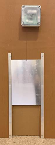 Automatic Chicken Coop Door (Complete Kit) | Waterproof Controller w/Timer & Light Sensor | Battery Powered