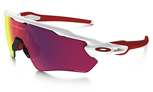Oakley Radar EV Path Sunglasses Polished White / Prizm Road & Care Kit - Prizm Ev Oakley Radar