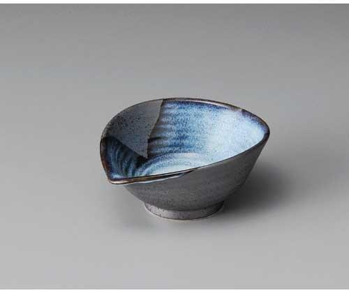Blue Flow TENMOKU NABURI 15 cm Medium Bowl Pottery