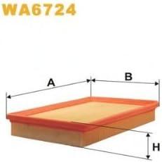 Wix Filters Wa6724 Luftfilter Auto