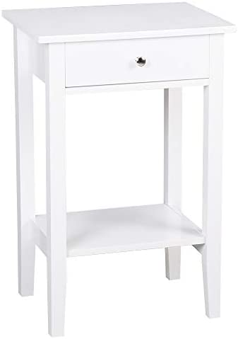 Bonnlo Night Stand End Side Table Bedside Table