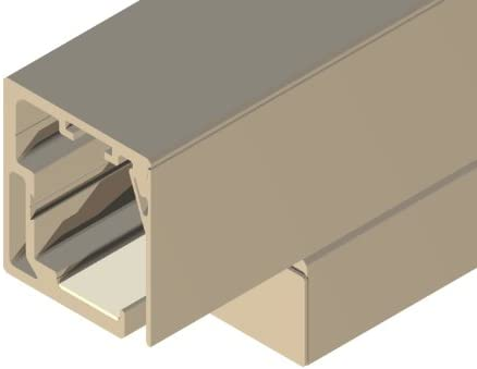 Cristal-Herraje de puerta corredera de Cuba, para puertas correderas sin marco, especial puerta de ancho DUO 2X 861 - 985 mm, 10 mm de grosor: Amazon.es: Bricolaje y herramientas