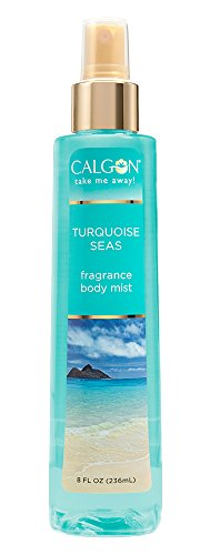Calgon Fragrance Body Mist (Turquoise Seas, 8-Ounce)