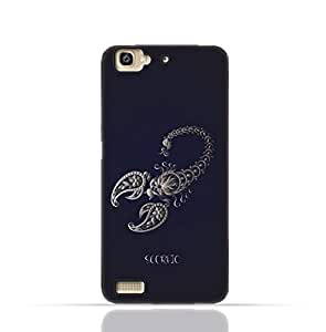 Huawei GR3 TPU Silicone Case With Zodiac Sign Scorpio Design