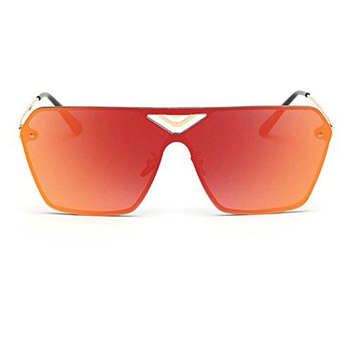 Blue Sunshine Unisex Big Frame Reflective Fashion Driving - Cooling Online Shopping Glasses