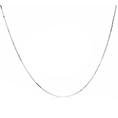 Bang-pa Luxury 18K White Gold Yellow Gold Chain Cost Price Sale Pure Gold Necklace Best Gift For Women Black