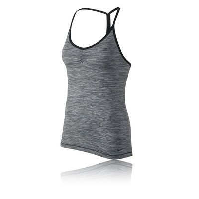 Price comparison product image Women's Nike Indy Space Dye Training Sports Top Blue Graphite 648565-494 (S)