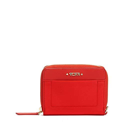 TUMI - Voyageur Tri-Fold Zip-Around Wallet - Compact Card Holder for Women - Sunset