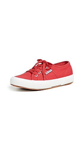 Superga Unisex 2750 Cotu  Maroon Red Classic Sneaker - 36 M EU / 6 B(M) US Women / 4.5 D(M) US Men (Sole Childrens Shoes Crepe)