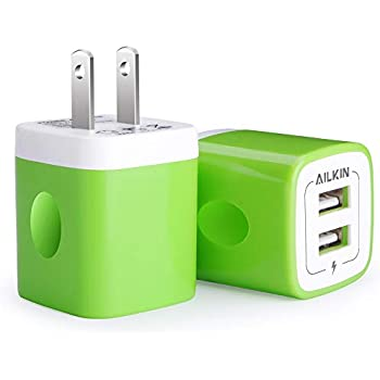 Amazon.com: Portable USB Charger, 2.1A Dual Port Charging ...