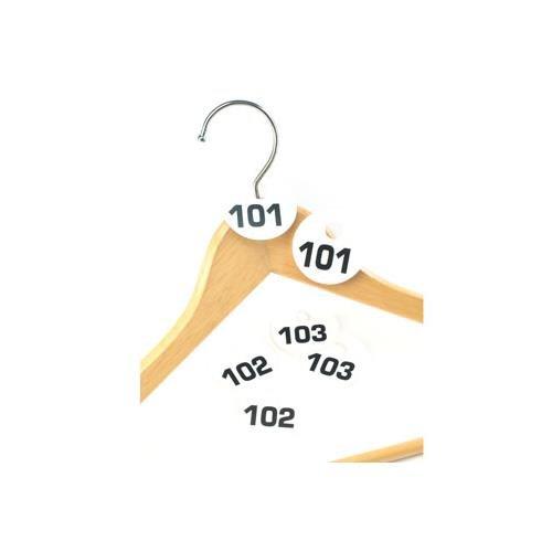 - Cal-Mil 869-2 Coat Check Tag, 0.5 Diameter x 0.125