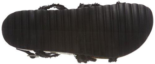 Lisa Nero Donna Caviglia Alla Sandali Con black Cinturino Esprit Cdqv4w4