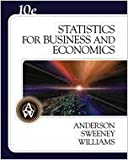 Statistics for Business and Economics 9780324365092