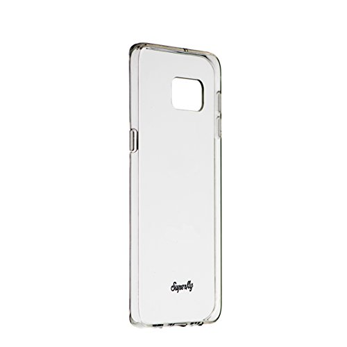 Samsung Galaxy S6 Edge Plus Case, Superfly Air Series, Best Slim Samsung Galaxy S6 Edge Plus Protection, Anti-Scratch Clear Back Case w/ Soft Edge, Samsung Galaxy S6 Edge Plus Case (Clear/Clear)
